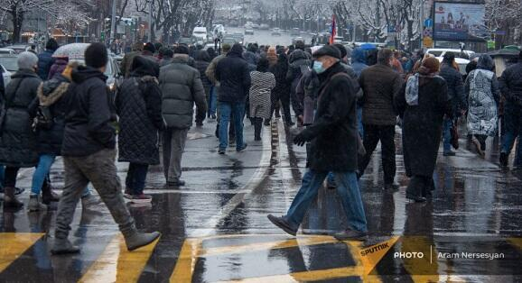 Next actions in Yerevan: streets are closed -