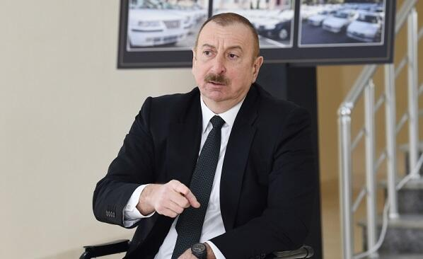 Ilham Aliyev was re-elected chairman of the NAP