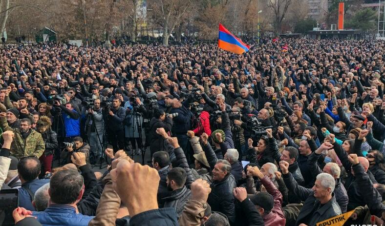 The opposition has decided to hold a sit-in in Yerevan