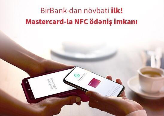 Mastercard kartla NFC ödənişlər mümkün oldu