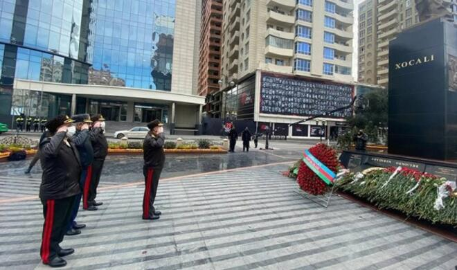 Hasanov visited the Khojaly genocide monument -