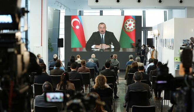 These words of Ilham Aliyev made headlines in the Turkish media