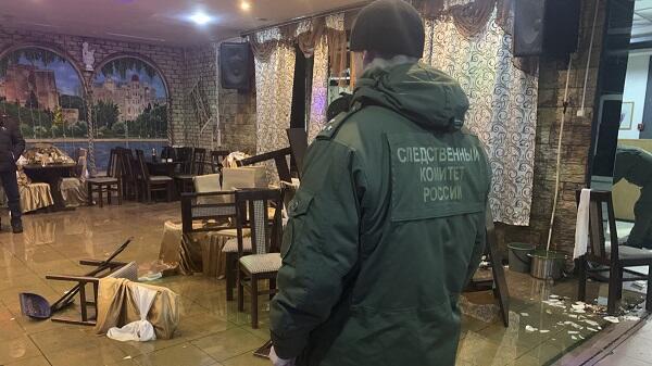 """""""Bakı"""" kafesində atışma: azərbaycanlı öldürüldü - Video"""