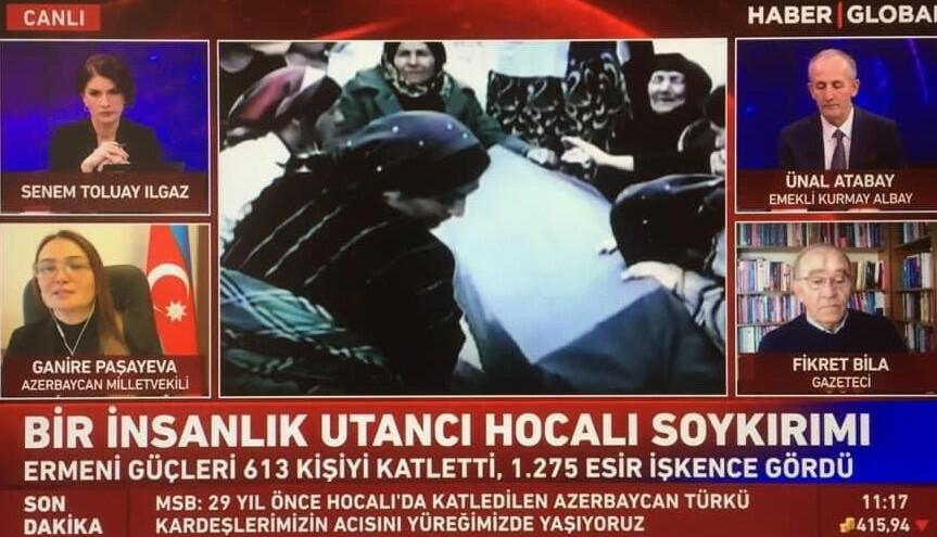 Türkiyə kanalları Xocalı ilə bağlı müzakirələr təşkil etdi