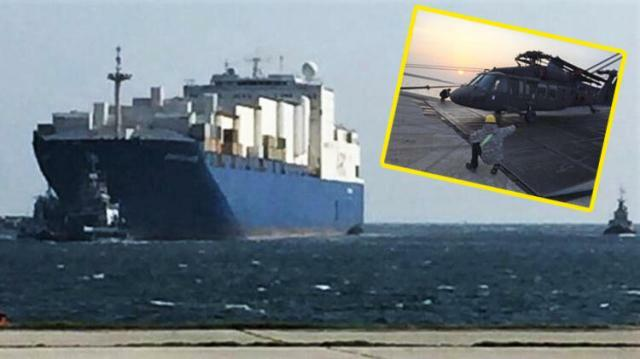 Türkiyə ilə sərhədə ABŞ gəmisi yanaşdı: 30 helikopter...
