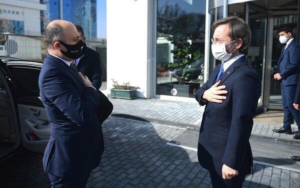 Anar Karimov met with Fakhraddin Altun