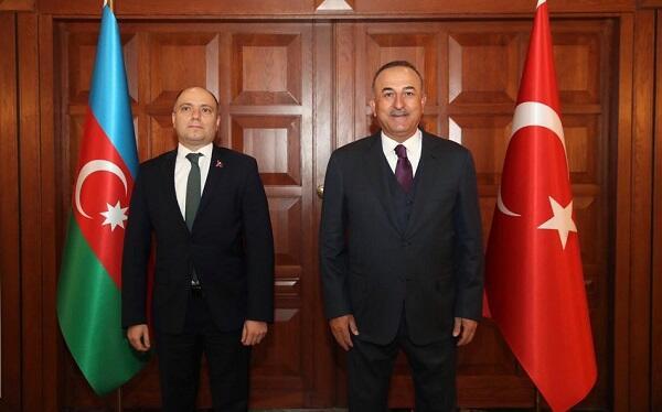 Anar Kərimov Çavuşoğlu ilə görüşdü