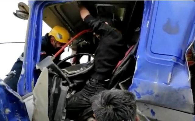 Xızıdakı ağır yol qəzasının - Videosu