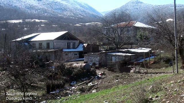 Dudukchu village of Khojavend region -