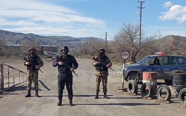 Qubadlı polisi vəzifə başında - Video