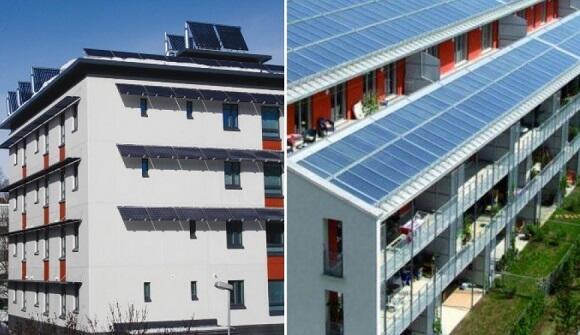 Bu ölkədə elektrik enerjisi pulsuz olan binalar tikilir
