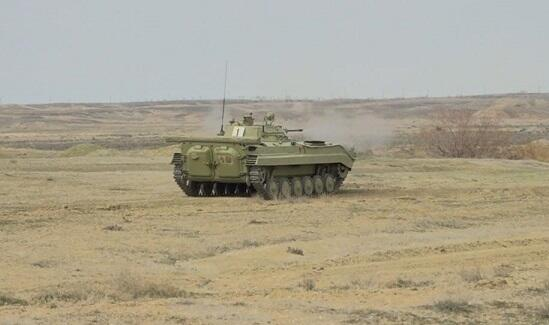 Our armored vehicles started firing -