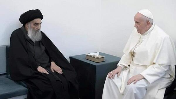 The Pope had a historic meeting with the Shiite leader