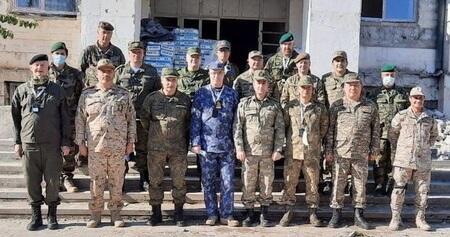 Xarici diplomatlar Qubadlıdadır - Foto