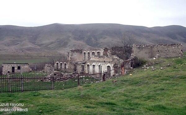 Füzulinin Qarakollu kəndi - Video