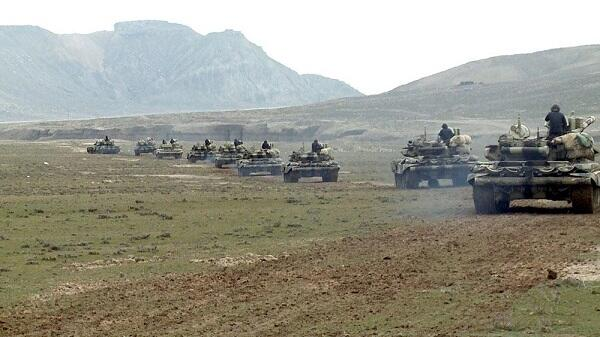 Azerbaijani army starts training in Nakhchivan
