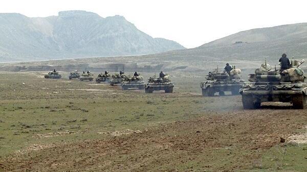 Azerbaijani army starts training in Nakhchivan