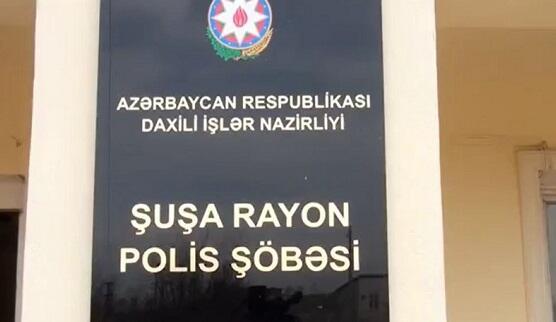 Şəhid oğluna Şuşa Rayon Polis Şöbəsində vəzifə verildi