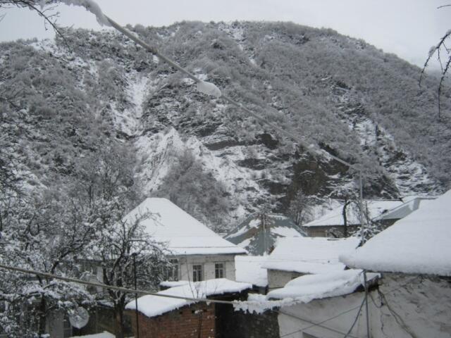В этих районах пошел снег - Фактическая погода