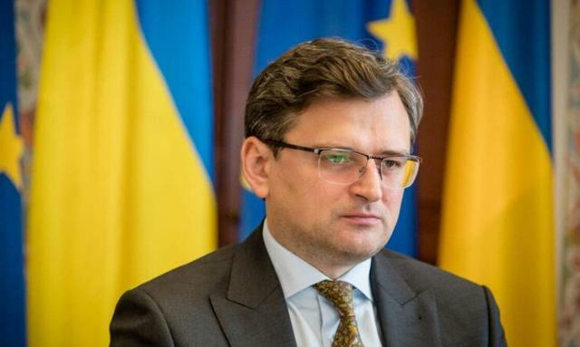 The top Ukrainian diplomat went to Brussels