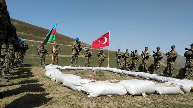 Azerbaijani and Turkish armies` joint operations -