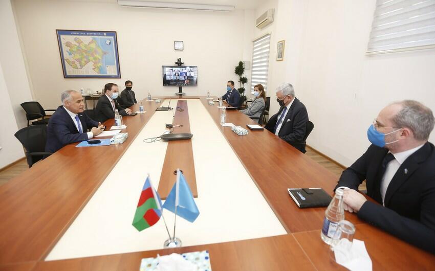 Bozkir arrived at the UN Office in Baku -