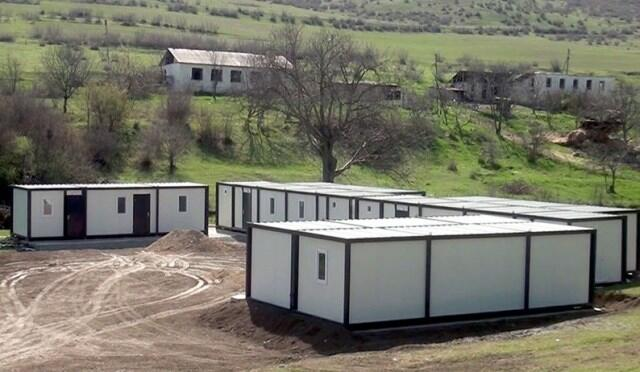 Dormitories are being set up in liberated areas -