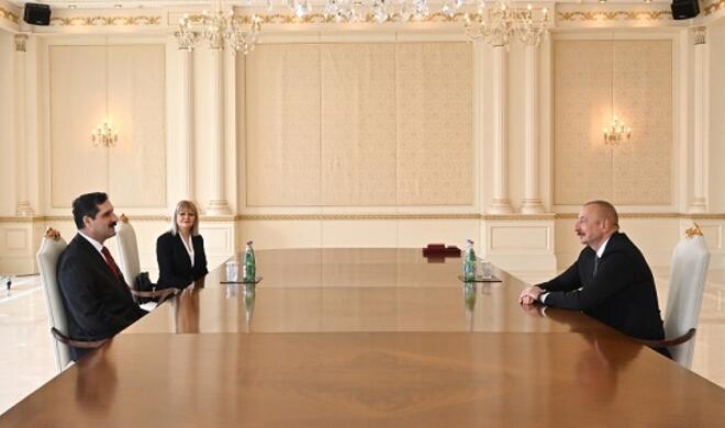 Ilham Aliyev met with Ozoral -