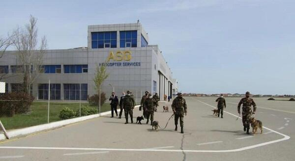 MES held another training at Zabrat Airport