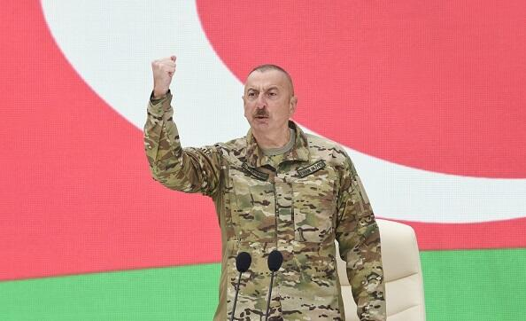 I said, if you don't, don't go to hell - Ilham Aliyev