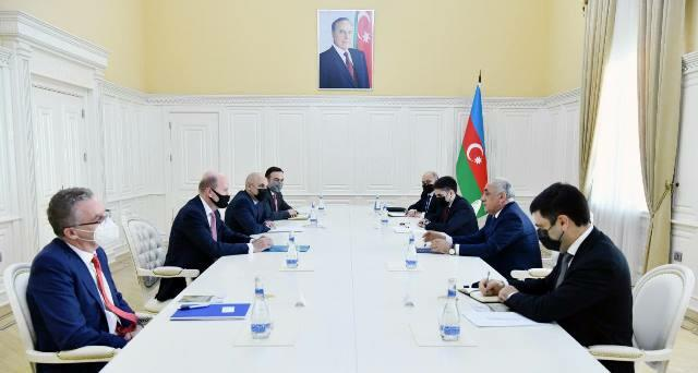 Azerbaijan's PM meets with BP's regional president