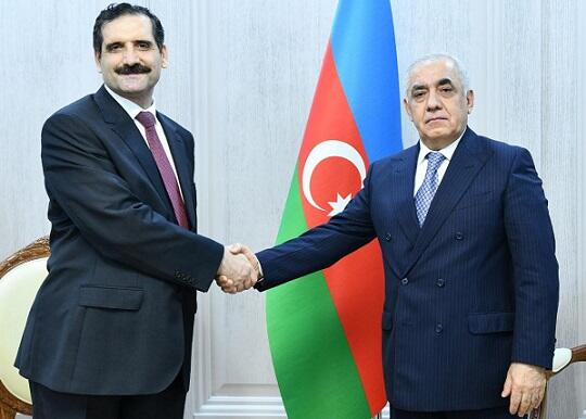 Azerbaijani PM, Turkish ambassador hold meeting
