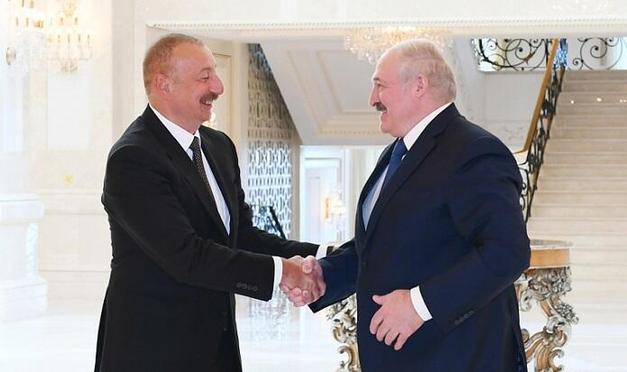 Aliyev- Lukashenko meeting has started -