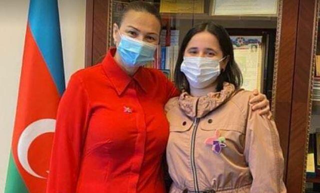 Paşayeva Reyhan Camalova ilə görüşdü