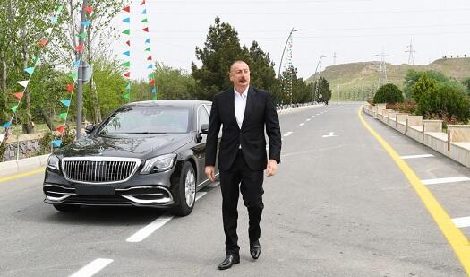 President made inaugurations in Hajigabul -