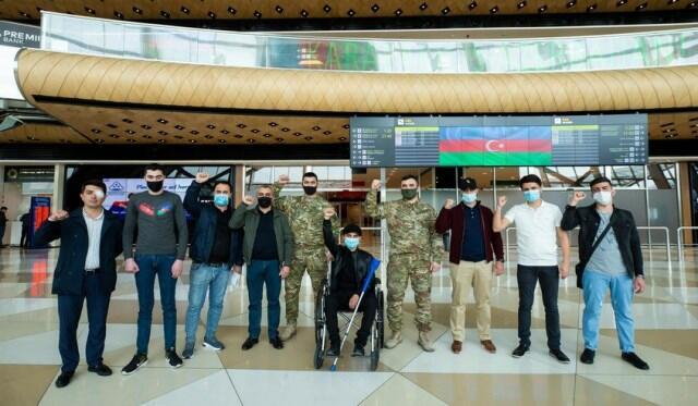 Еще 12 раненых участников войны отправлены в Турцию