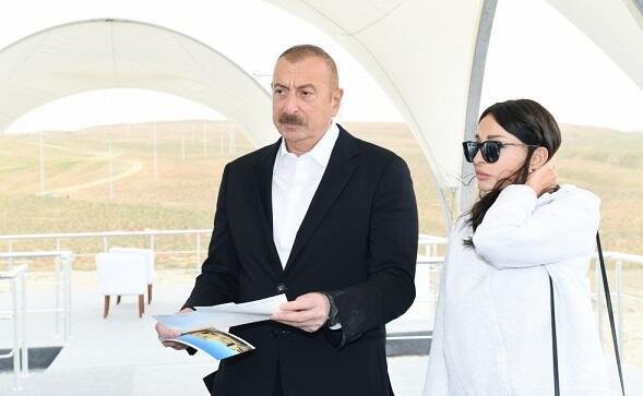 Mehriban Aliyeva shared a photo from visit to Zangilan -