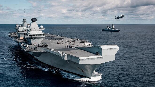 Британский корабль вошел в Черное море