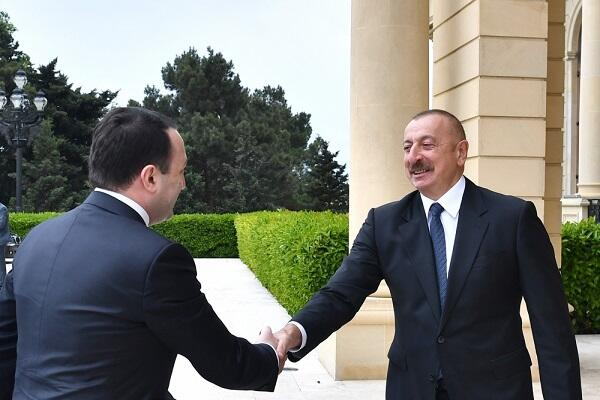 Garibashvili invited Ilham Aliyev to Georgia