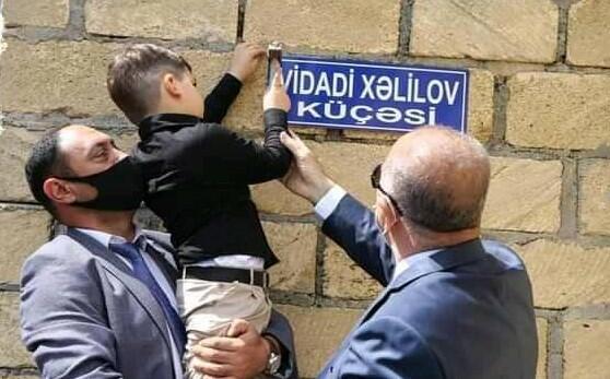 Şəhid polkovniklərin adı əbədiləşdirildi - Foto