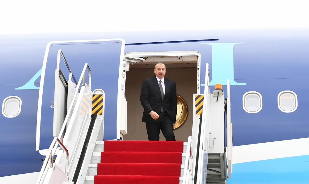 Ilham Aliyev`s visit to Nakhchivan -