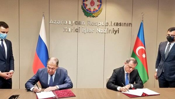 Bayramov and Lavrov signed a consultation plan