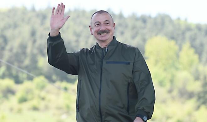 Ilham Aliyev's visit to Shusha in the Turkish press