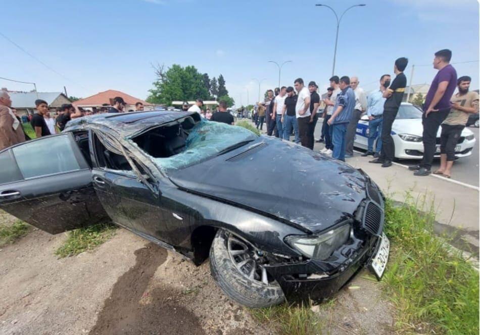Gəncədə ağır qəza: sürücü öldü - Foto