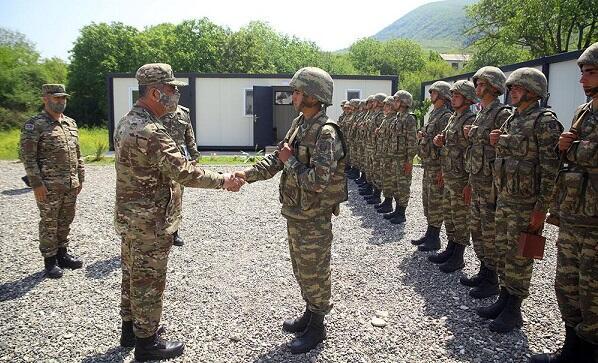 На освобожденных территориях созданы 20 воинских частей