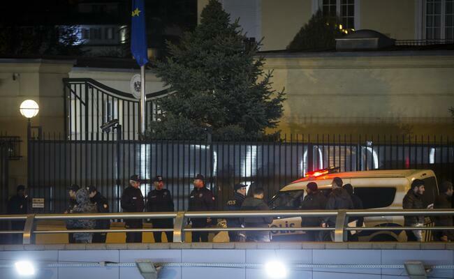 У посольства Австрии в Израиле взорвалась ракета