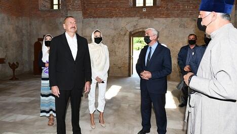 Həm Xudavəngdə, həm də Ağoğlanda... - Prezident