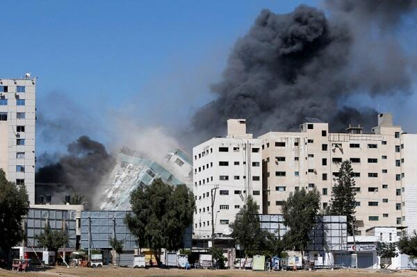 Israel bombed two ministry buildings