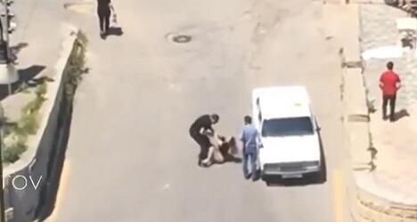 Qadının küçədə təzyiqə məruz qalması barədə - Açıqlama