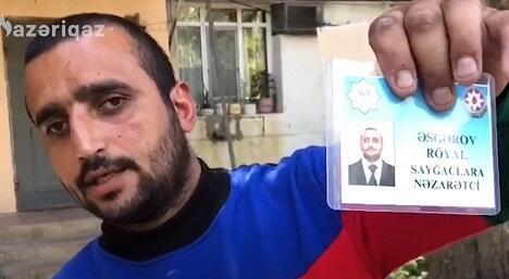 Saxta vəsiqə ilə vətəndaşları aldadan şəxs... - Video
